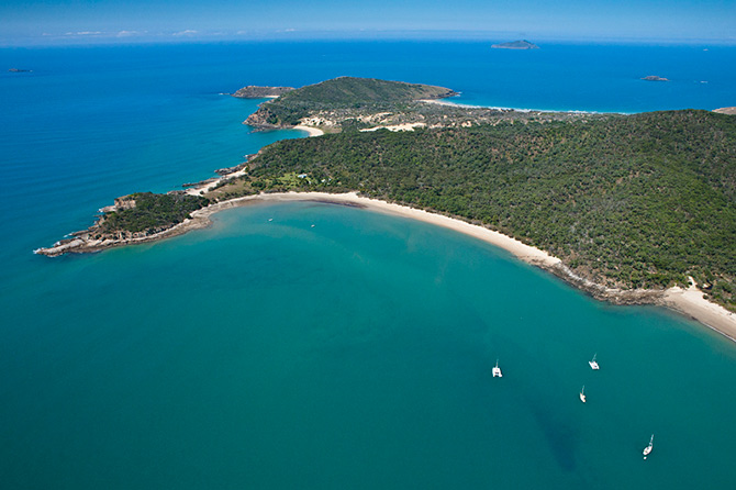 Little Peninsula Great Keppel Island